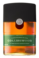 Collingwood 21-Year-Old Canadian Whisky. Image courtesy Brown-Forman.