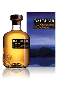 Balblair 1983 Highland Scotch Whisky. Image courtesy Inver House Distillers.