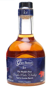 Glen Breton Ice. Image courtesy Glenora Distillers.