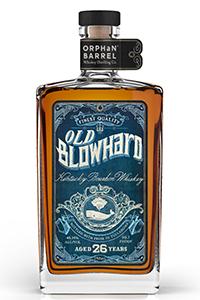 Old Blowhard Kentucky Straight Bourbon. Image courtesy Diageo.