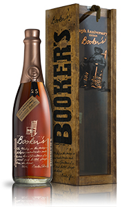 The 25th Anniversary Edition of Booker's Small Batch Bourbon. Image courtesy Jim Beam.