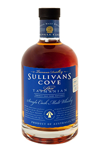Sullivan's Cove French Oak. Image courtesy Tasmania Distillery.