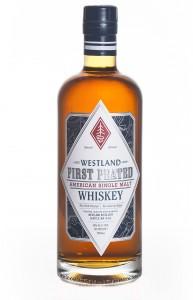 Westland First Peated American Single Malt. Image courtesy Westland Distillery.
