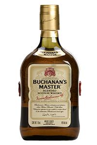 Buchanan's Master Blended Scotch Whisky. Image courtesy Diageo.