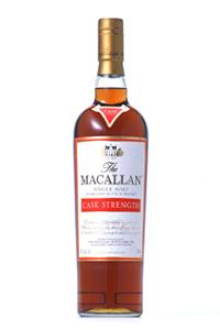The Macallan Cask Strength. Image courtesy The Macallan/Edrington.