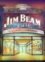 An architect's rendering of the exterior of the Jim Beam Urban Stillhouse to be built in Louisville, KY. Image courtesy Beam Suntory.
