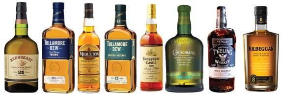 The 2015 Winners in the Irish Whiskey Awards. Photos courtesy Irish Whiskey Awards