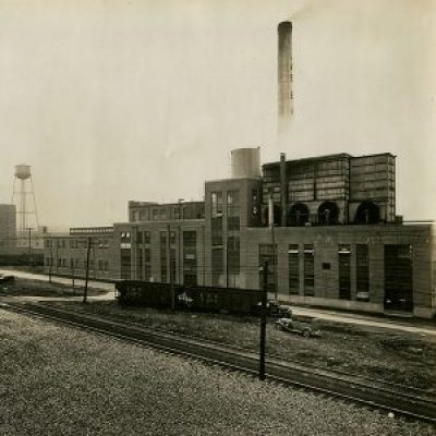 A 1936 photograph of the James E. Pepper Distillery. Photo courtesy Georgetown Trading Co.