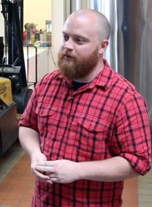 Westland Distillery co-founder and Master Distiller Matt Hofmann. Photo ©2015, Mark Gillespie/CaskStrength Media.
