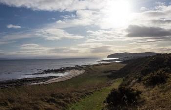 The shore of Scotland's Dornoch Firth. Photo ©2012, Mark Gillespie/CaskStrength Media.