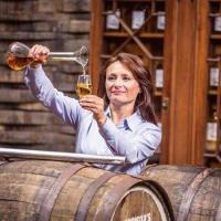 Brown-Forman's new whisky maker, Rachel Barrie. Image courtesy Rachel Barrie/Twitter.