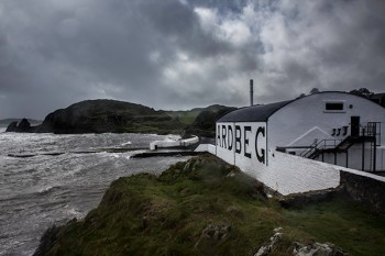 Ardbeg Distillery in Scotland. Photo ©2011, Mark Gillespie/CaskStrength Media.