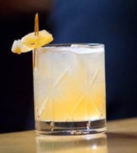 Dewar's Winter Penicillin cocktail. Image courtesy Dewar's.