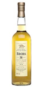 Brora 38 2016 Release. Image courtesy Diageo.