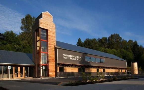 The Woodinville Whiskey Company distillery in Woodinville, Washington. Image courtesy Woodinville Whiskey Company.