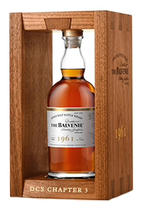 The Balvenie DCS Compendium 1961. Image courtesy William Grant & Sons.