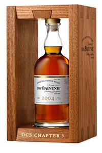 The Balvenie DCS Compendium 2004. Image courtesy William Grant & Sons.