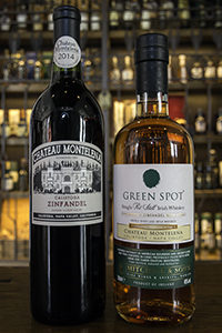 Green Spot Chateau Montelena and the Chateau Montelena 2014 Zinfandel. Photo ©2017, Mark Gillespie/CaskStrength Media.