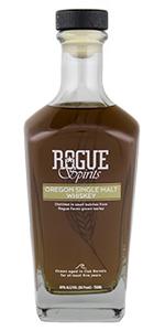 Rogue Spirits Oregon Single Malt. Photo ©2018, Mark Gillespie/CaskStrength Media.