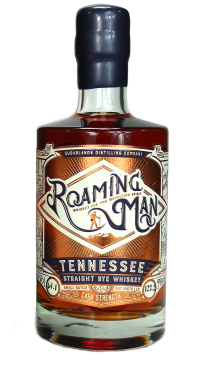 Roaming Man Tennessee Straight Rye Whiskey. Image courtesy Sugarlands Distilling Company.