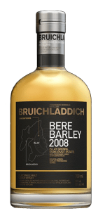 Bruichladdich Bere Barley Islay Grown 2008. Image courtesy Bruichladdich.