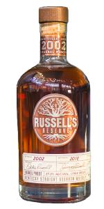 Russell's Reserve 2002 Vintage Bourbon. Image courtesy Wild Turkey/Campari.