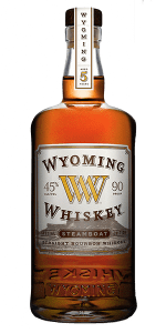 Wyoming Whiskey Steamboat Edition. Image courtesy Wyoming Whiskey.