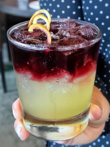 The San Antonio Sour cocktail. Image courtesy JW Marriott San Antonio Hill Country Resort & Spa.