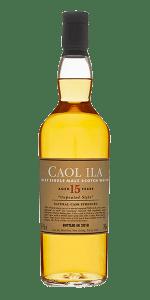 Caol Ila 15 Unpeated (2018 Edition). Image courtesy Diageo.