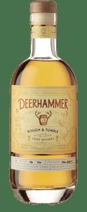 Deerhammer Rough & Tumble Corn Whiskey. Image courtesy Deerhammer Distilling.