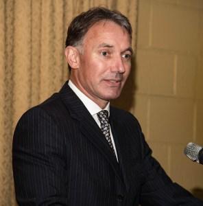Beam Suntory Chairman & CEO Matt Shattock. File photo ©2018, Mark Gillespie/CaskStrength Media.