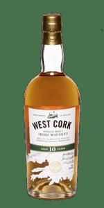 West Cork 10 Year Old Single Malt. Image courtesy West Cork Distillers.