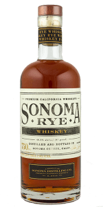 Sonoma Rye Whiskey. Photo ©2019, Mark Gillespie/CaskStrength Media.