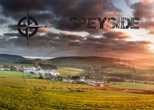 La región de Speyside en Escocia con paisajes de ensueño