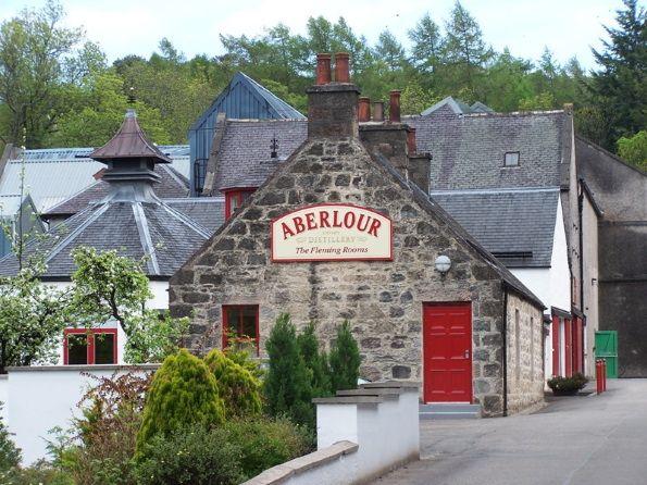 La destilería de Aberlour en Speyside