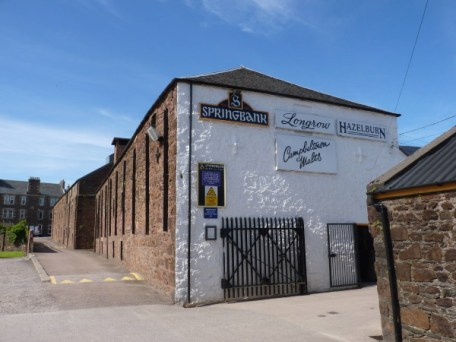 La destilería de Springbank en Campbeltown