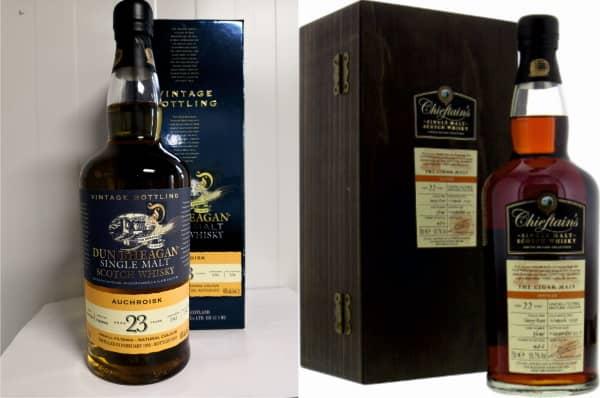 Embotellados de Dun Bheagan y Chieftain's de Ian Macleod Distillers