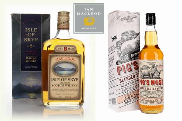 Isle of Skye y Pig´s Nose Blended Scotch de Ian Macleod