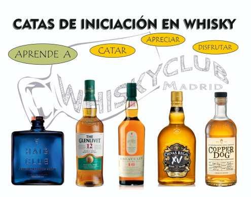 CATAS DE INICIACION EN WHISKY CLUB MADRID