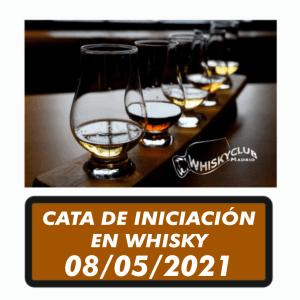 CATA DE INICIACION EN WHISKY MAYO 2021