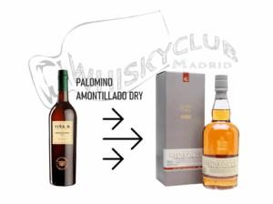 Cata de Amontillado con Glenkinchie
