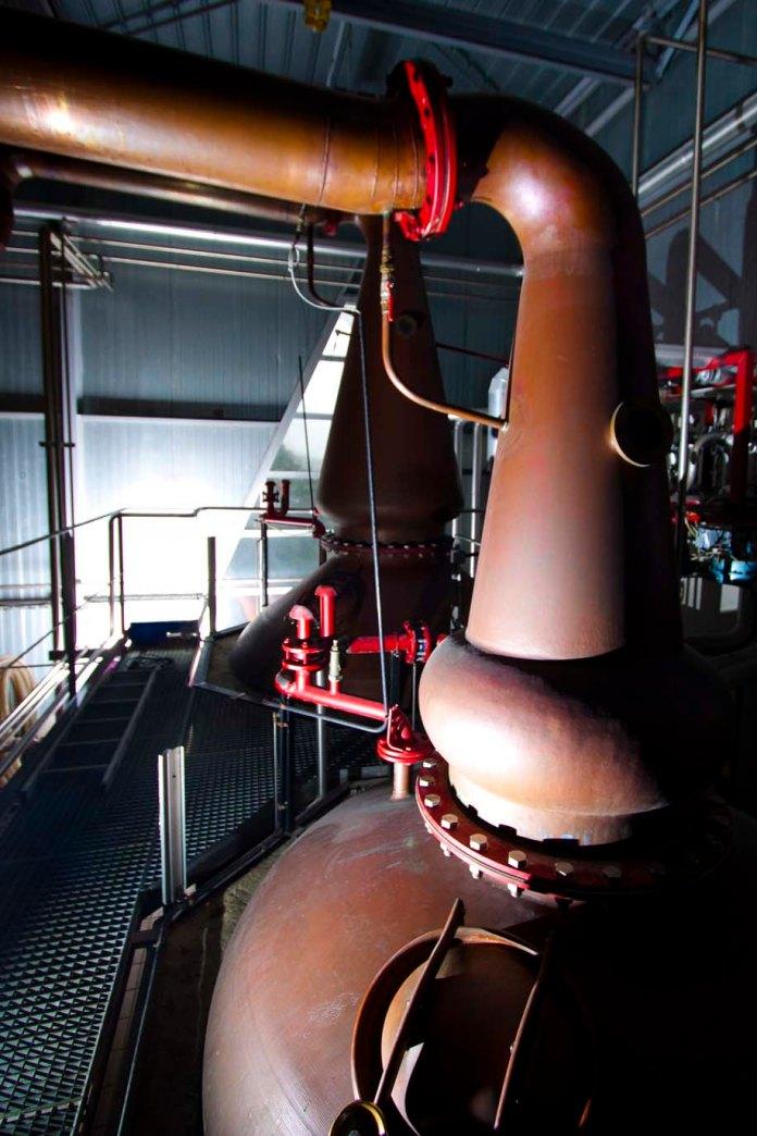 Die Stills der Destillerie Warenghem - Copyright Warenghem 2013, mit freundlicher Genehmigung