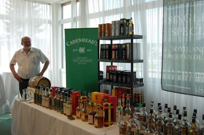 Mit einer breiten Auswahl an Produkten vertreten: Cadenhead's.