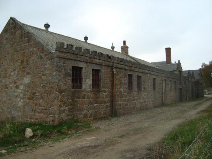 Von der alten Imperial-Destillerie sind nur mehr wenige Gebäude erhalten. Bild Copyright Mario Prinz