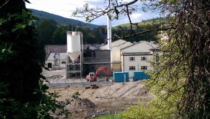 Bauarbeiten in Mortlach, 3.5.14 - Bild von Shaun King. Alle Rechte vorbehalten
