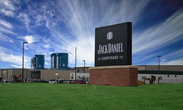 Die neue Cooperage von Jack Daniels in Trinity, Alabama.
