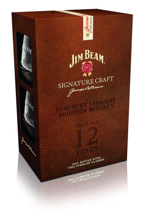 Dieses Jim Beam Signature Craft - Geschenkset gibt es bei uns 3x zu gewinnen!
