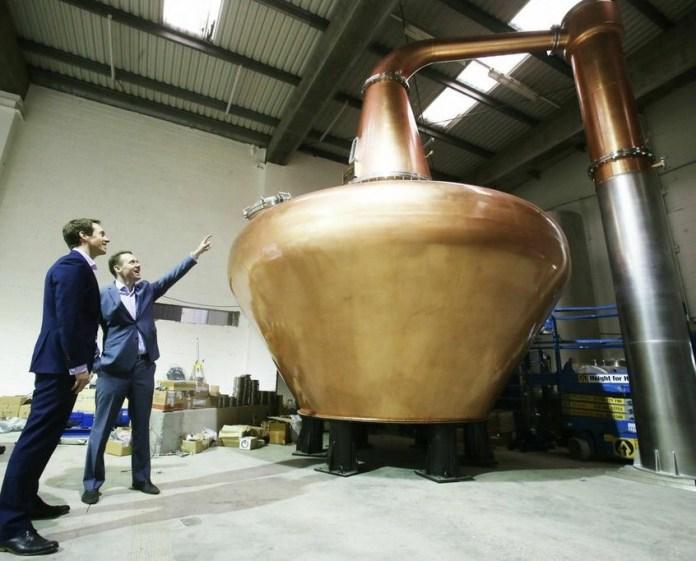 Teeling Whiskey Distillery Pot Still