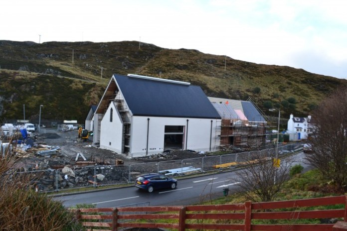 Aufnahme vom 15. 12. 2014 - Foto: Isle of Harris Distillery