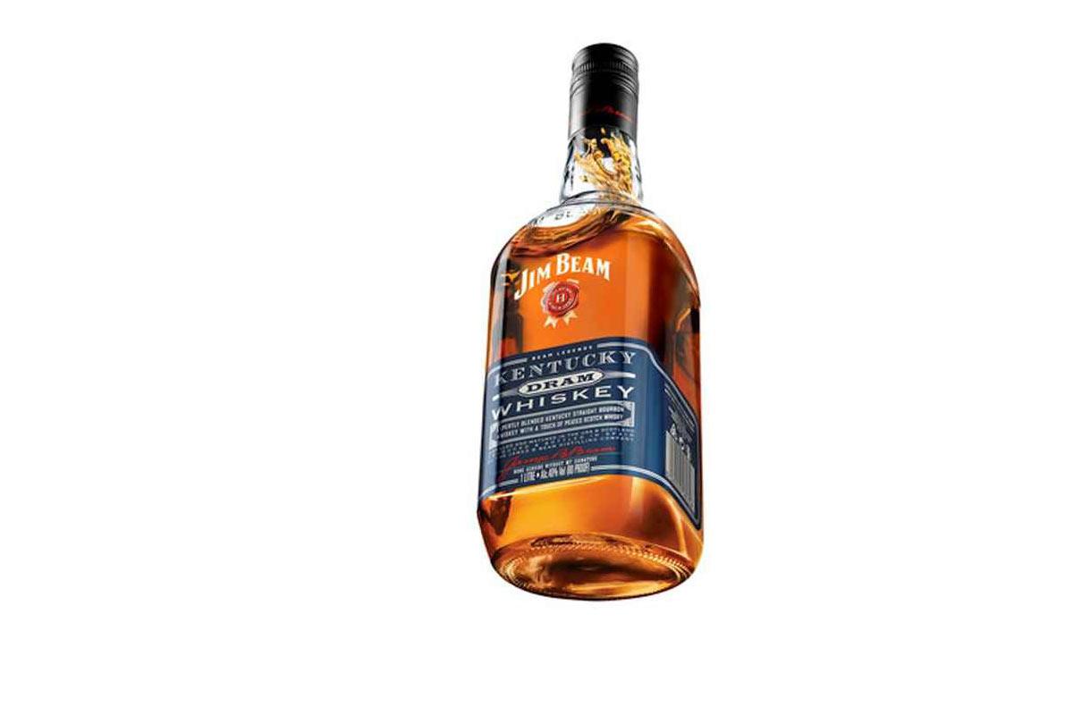 bourbon und scotch in einer flasche jim beam kentucky. Black Bedroom Furniture Sets. Home Design Ideas